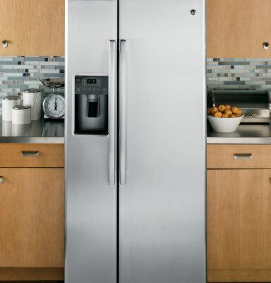 <br/><br/>  美國GE奇異 GSS23HSSS  對開門冰箱(702L))【零利率】※熱線07-7428010<br/><br/>