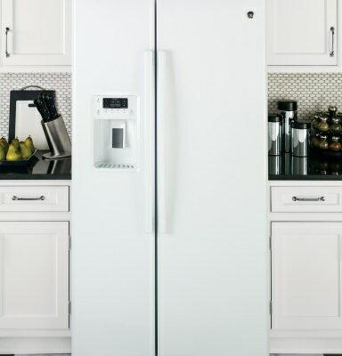 <br/><br/> 美國GE奇異 GSS25GGWW 對開門冰箱(733L))【零利率】※熱線07-7428010<br/><br/>