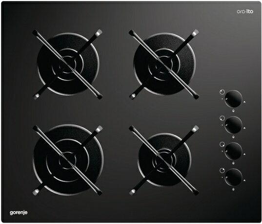 gorenje 歌蘭尼 GHS64-ORA-S  嵌入式 四口 玻璃陶瓷瓦斯爐 (220V電壓)【零利率】※熱線07-7428010