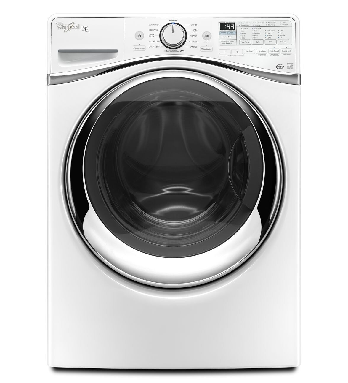 <br/><br/>  Whirlpool 惠而浦 WFW97HEDW 滾筒洗衣機(15KG) ~美國原裝進口~【零利率】※熱線07-7428010<br/><br/>