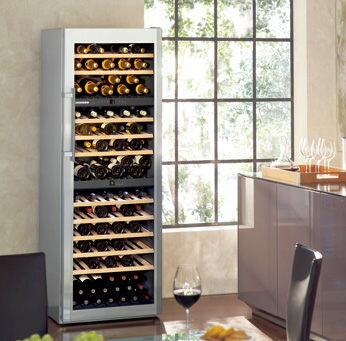嘉儀德國.利勃 LIEBHERR WS17800 獨立式三重箱溫紅酒櫃--期貨 【零利率】