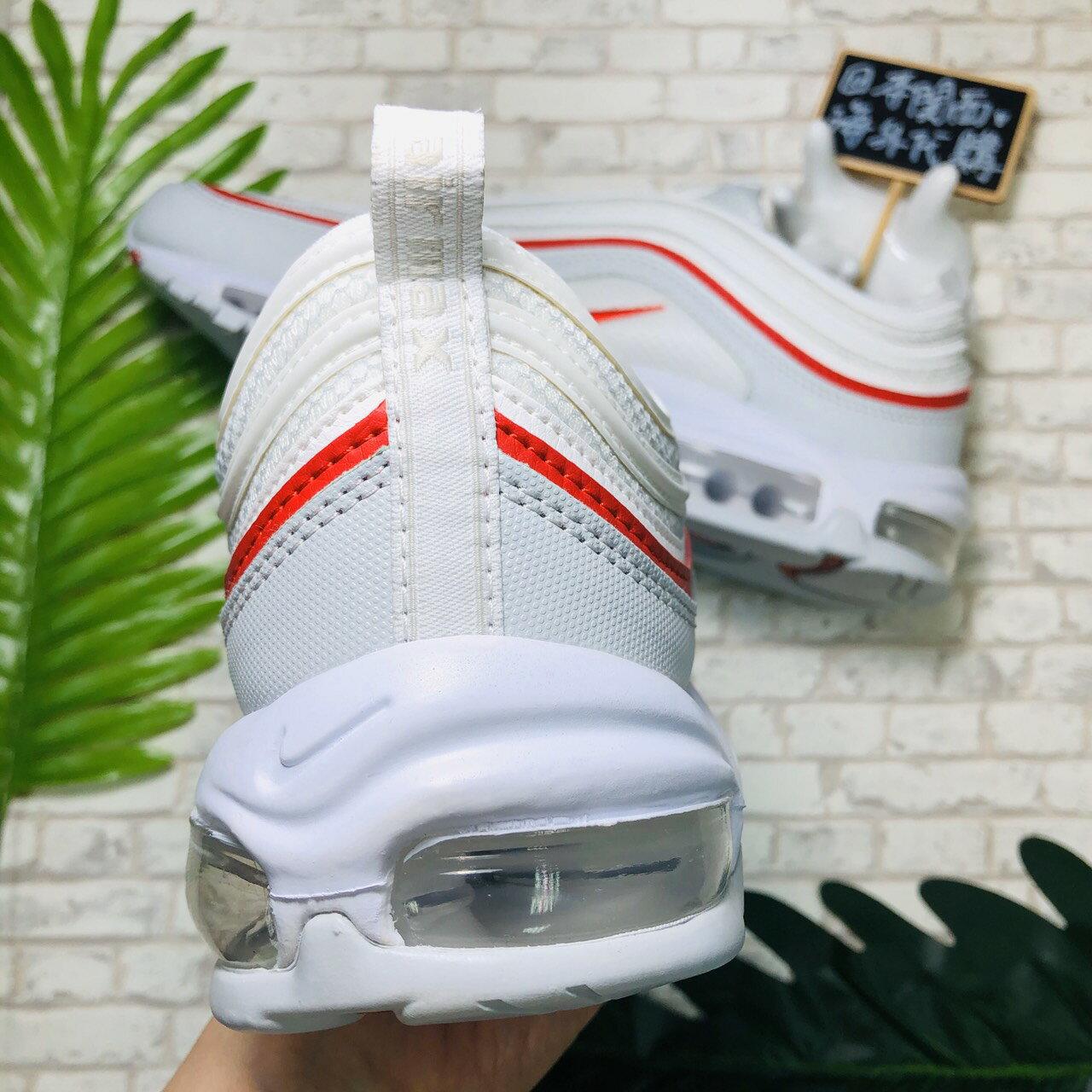 【日本海外代購】Nike Air Max 97 OG 白紅 白灰 子彈 氣墊 反光 AR5531-002 慢跑  男女
