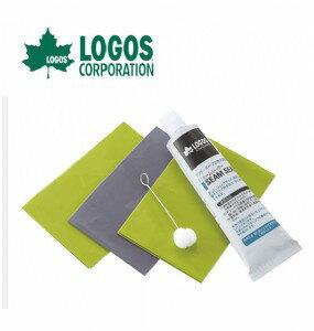 【露營趣】LOGOS LG71999600 帳篷修補組 修補膠 防水貼片 修補片
