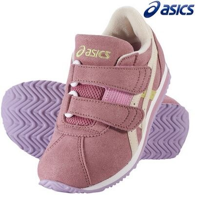 ASICS 亞瑟士 兒童運動鞋 SUKU CORSAIR SUEDE MINI 3 TUM157-1899 粉紅