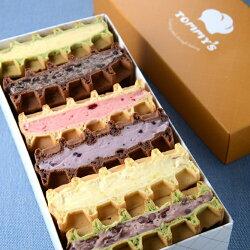【美式慕斯鬆餅禮盒】☆中秋節禮盒☆團購首選☆熱銷夏季甜品♥Tommy's Waffle