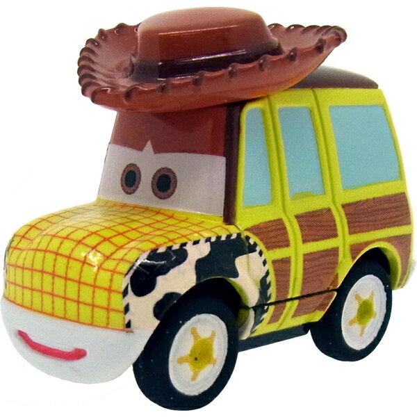 【真愛日本】15092600002TOMY車-胡迪牛仔旅行車 迪士尼 玩具總動員 TOY 胡迪 小車 擺飾 收藏