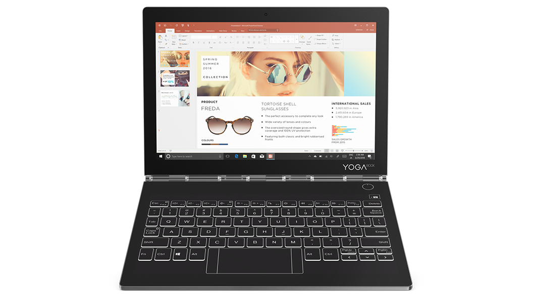 "Lenovo Yoga Book C930 10.8"" Laptop (i5 / 4GB / 128GB SSD) + $89.85 Credit"