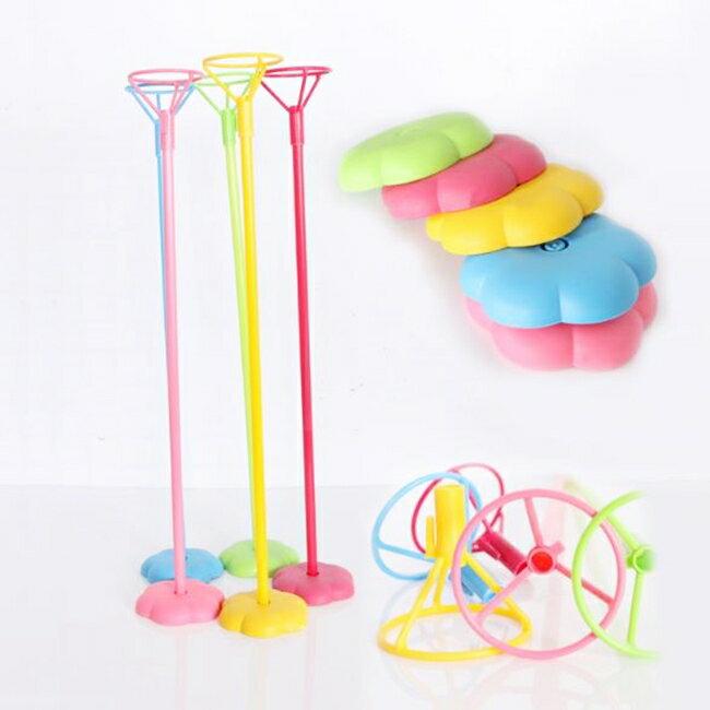 氣球架 氣球座(1套含棍子+托盤+底座) 氣球固定器 空飄架子 空飄座 會場布置【P11007601】