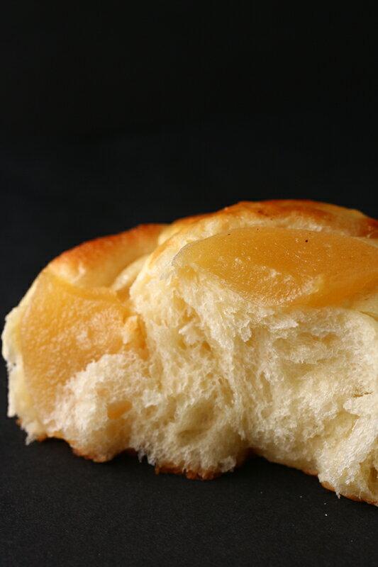 裕毛屋【蘋果麵包】(蛋奶素) 烤蘋果片麵包, 糖漬蘋果, 日式麵包