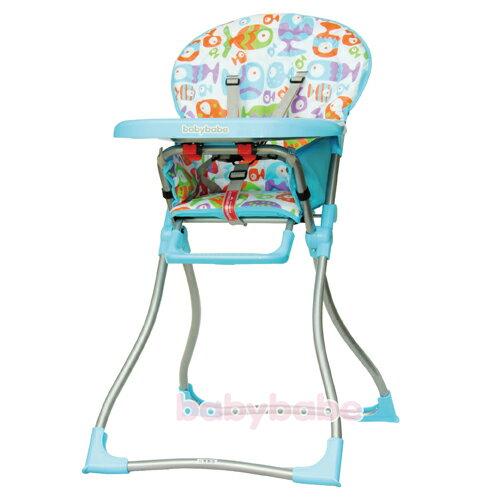 『121婦嬰用品館』同富 兒童高腳餐椅 - 藍 0