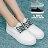 【AAR39】基本款百搭時尚簡約 撞色綁帶厚底布面鞋帆布鞋 3色 - 限時優惠好康折扣