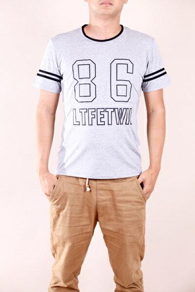 【CS衣舖 】韓系 合身版 萊卡彈力 短袖T恤 3104 1