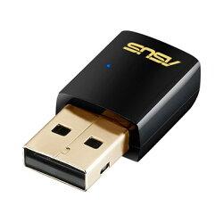 華碩 USB-AC51 雙頻AC600 Wi-Fi無線介面卡(適用50坪)