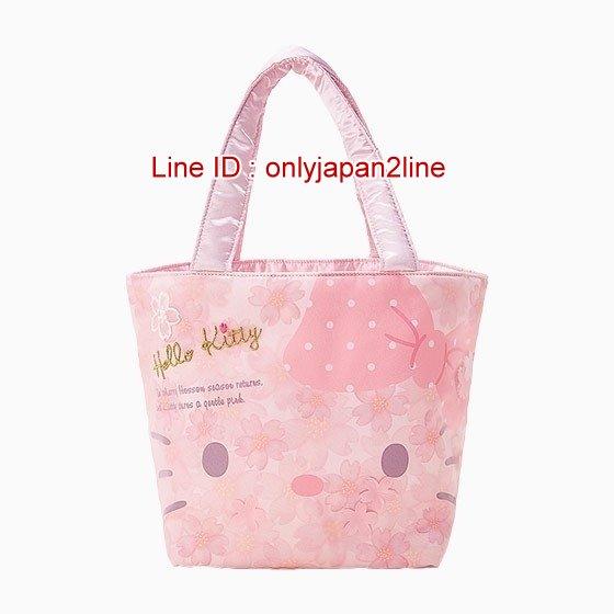 【真愛日本】4901610272893 手提包-KT 三麗鷗 Hello Kitty 凱蒂貓 提包 提袋