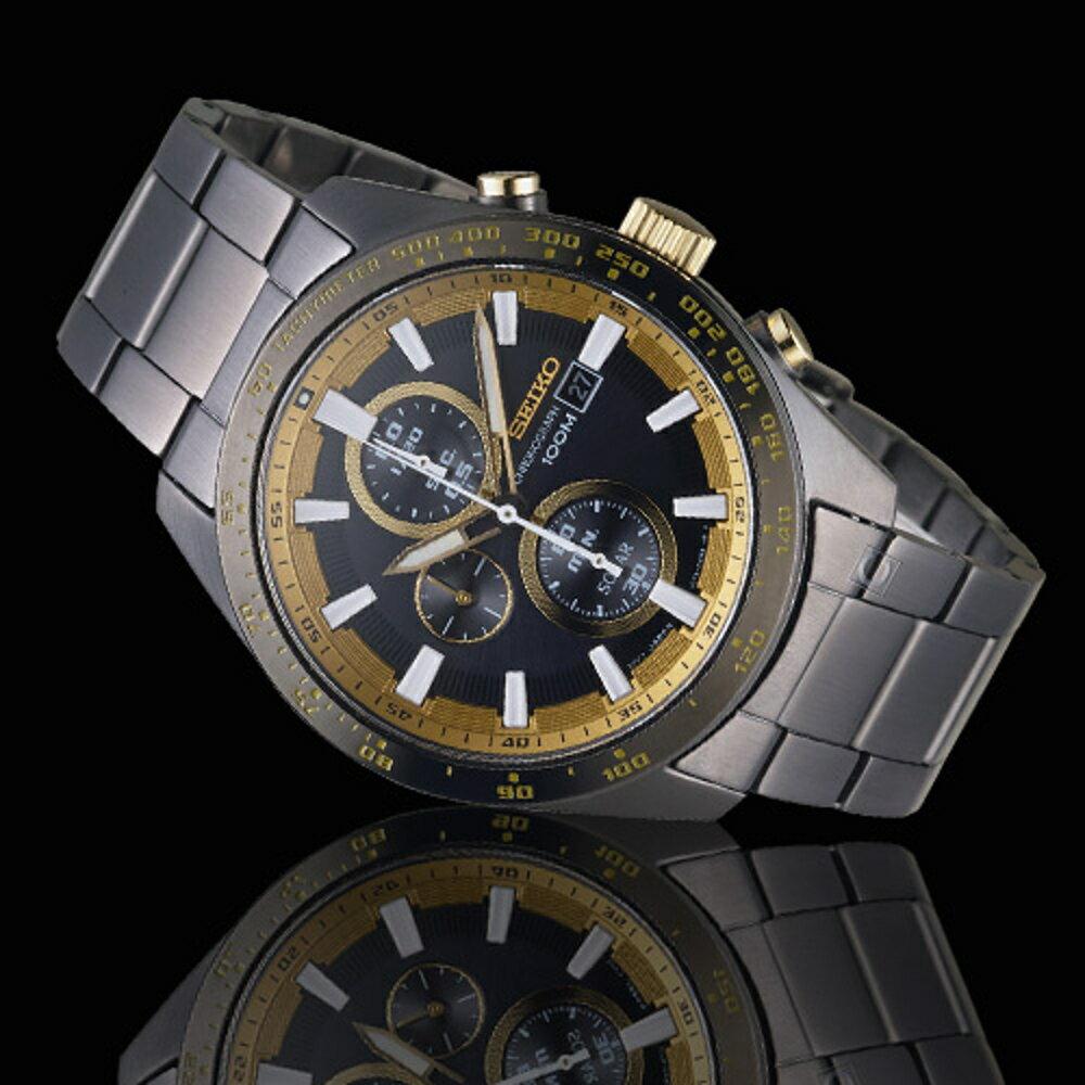 SEIKO Criteria勁速交鋒計時腕錶 V176-0AV0K SSC659P1 1