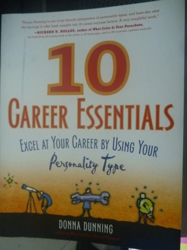 【書寶二手書T4/財經企管_ZCG】10 Career Essentials: Excel