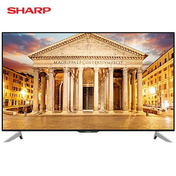 SHARP夏普LC-60UA6500T電視60吋4K智慧連網液晶
