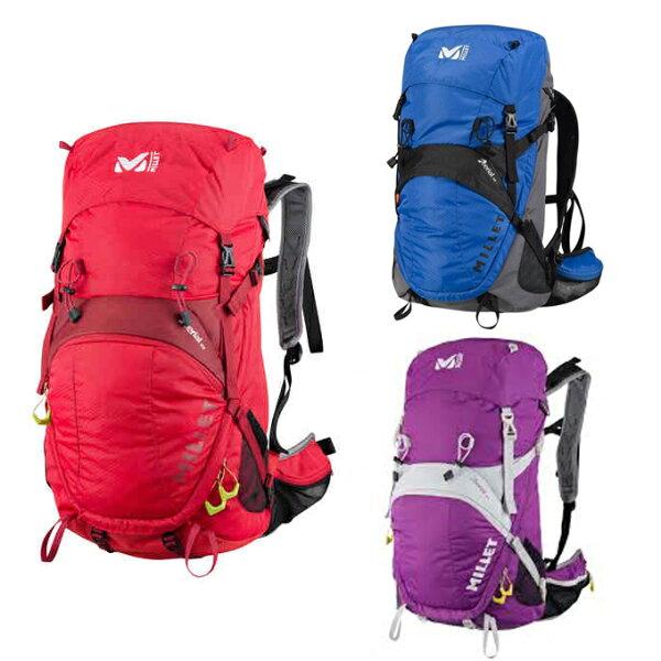 【出清】法國MilletAERIALMIS1861輕量透氣網架背包32升登山背包休閒背包水袋背包