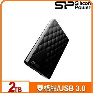 SP廣穎DiamondD062TB黑2.5吋行動硬碟