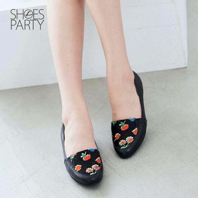 【 C2-17315L】真皮鬆緊帶歐貝拉_Shoes Party 1
