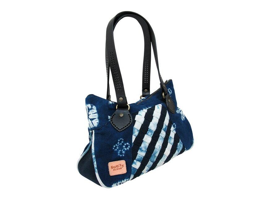 【衫林布包】藍染手作編織包