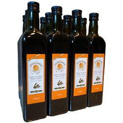 【橘色暫不搭配】《西班牙皇家派翠西亞100%頂級冷壓初榨單品橄欖油》【750ml團購組*12入不含紙盒】