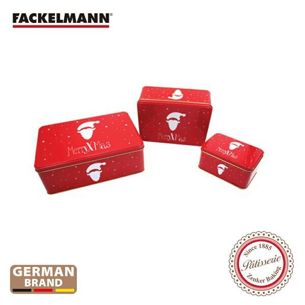 德國Fackelmann聖誕錫盒三件組FA-12268