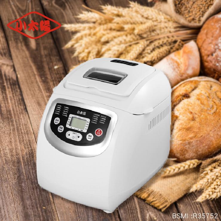 【小太陽2L自動投料製麵包機】吐司機 麵包機 烤麵包機 帕尼尼機 點心機 烤土司機【AB249】 0
