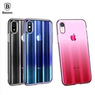 【Baseus】倍思iPhoneX極光殼手機殼保護殼手機套保護套殼【迪特軍】