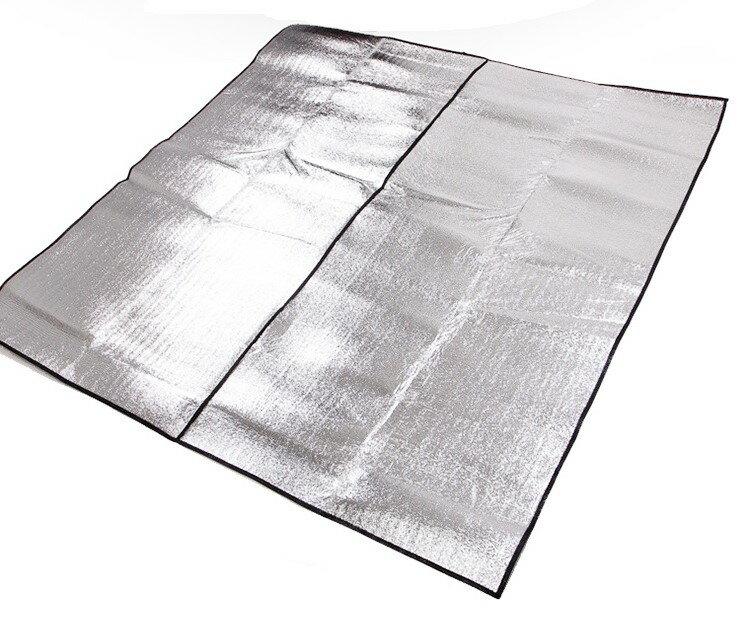 【露營趣】中和 TNR-138 300x250 雙面鋁箔墊 鋁箔墊 防潮墊 野餐墊 威力屋 大溪地 coleman snow peak logos
