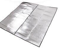 野餐墊防水耐磨超推薦【露營趣】中和 TNR-135 300x300 帳篷用 雙面鋁箔墊 鋁箔墊 防潮墊 露營墊 野餐墊 地墊 睡墊