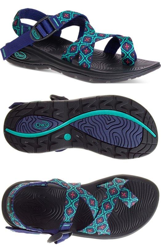 ├登山樂┤美國Chaco Z/VOLV2 女冒險旅遊涼鞋/戶外涼鞋-夾腳款 馬賽克# CH-EZW02-HC56