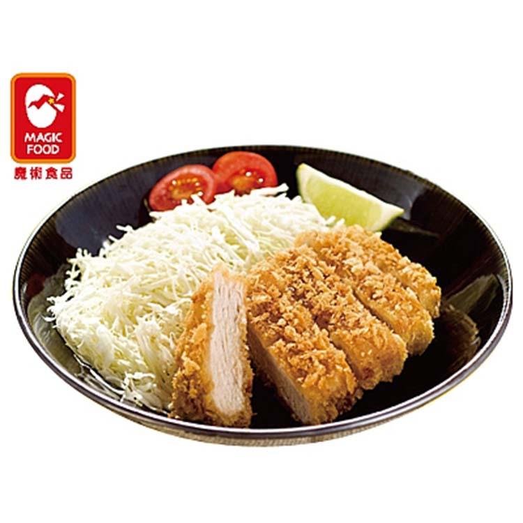 《魔術食品》日式大里肌豬排D-100(40片/箱)(厚約1.4cm)(B140180)