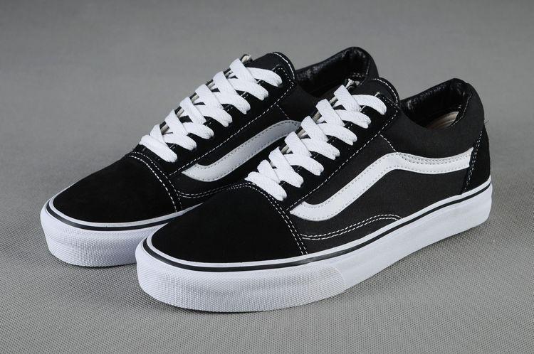 Vans Old Skool 經典黑白條 男女鞋
