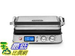 [7美國直購] DeLonghi America CGH1030D Livenza All-Day Grill, Griddle and Waffle Maker, Large, Silver