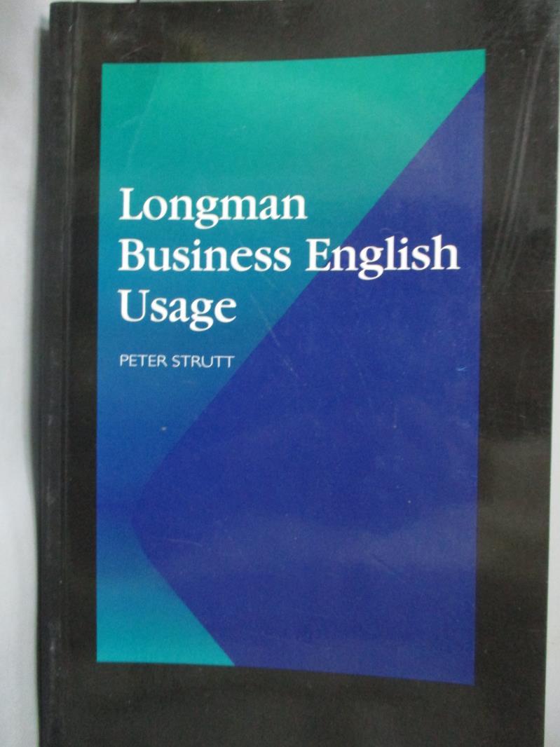 ~書寶 書T7/語言學習_LGN~Longman Business English Usa