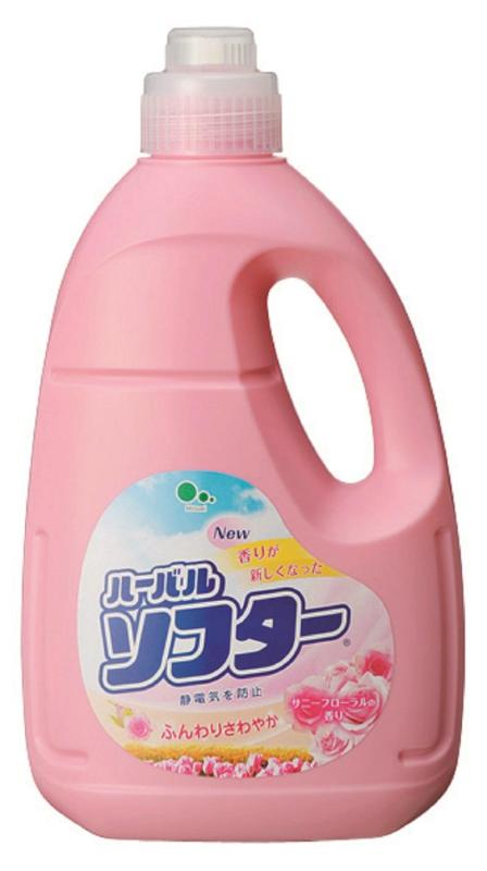X射線【C060168】Mitsuel 柔軟精2000ml,漂白水/漂白粉/環保/洗碗精/洗衣精/酵素/環保/冷洗精