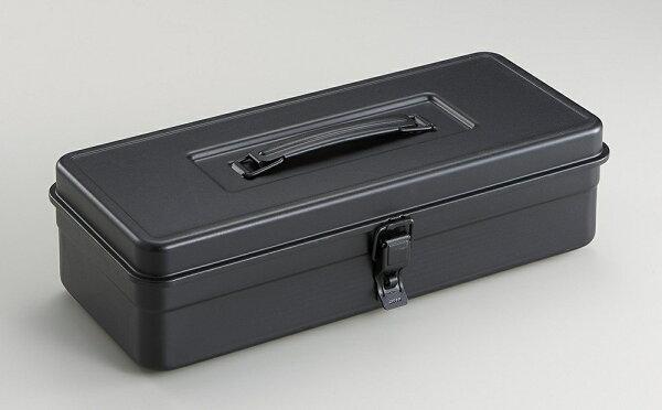├登山樂┤日本TOYOT-350提把方型工具箱-黑#T-350BK2