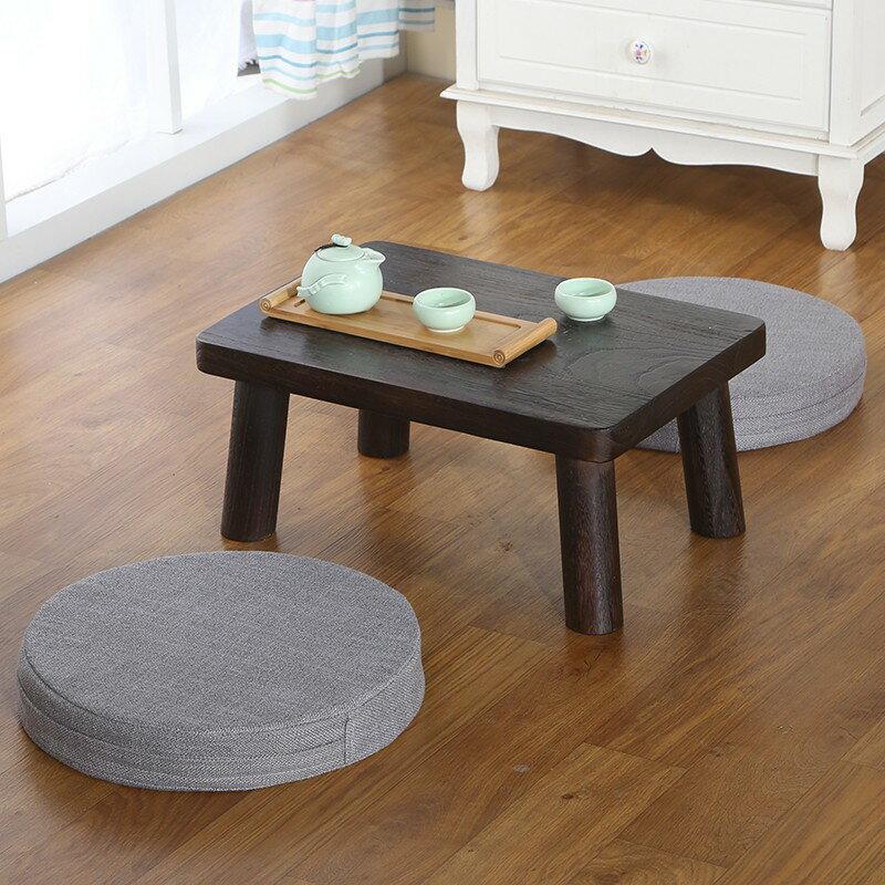 日式榻榻米茶幾飄窗桌簡約小茶桌 陽臺桌 實木飄窗桌地臺桌矮桌
