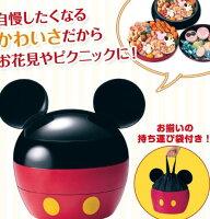 野餐籃打造貴婦風格日本製米奇米妮野餐籃便當箱3層婚禮喜糖托盤041790