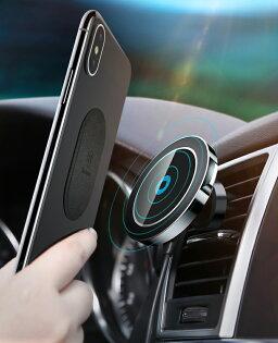 Baseus倍思大耳朵車載磁吸無線充充電器充電板【迪特軍】