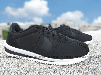 Shoestw【905111-001】NIKE CORTEZ ULTRA (GS) 阿甘鞋 黑色 大童 女生可穿