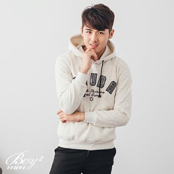 ☆BOY-2☆ 【NR95079】情侶休閒SHUDA連帽T恤 3