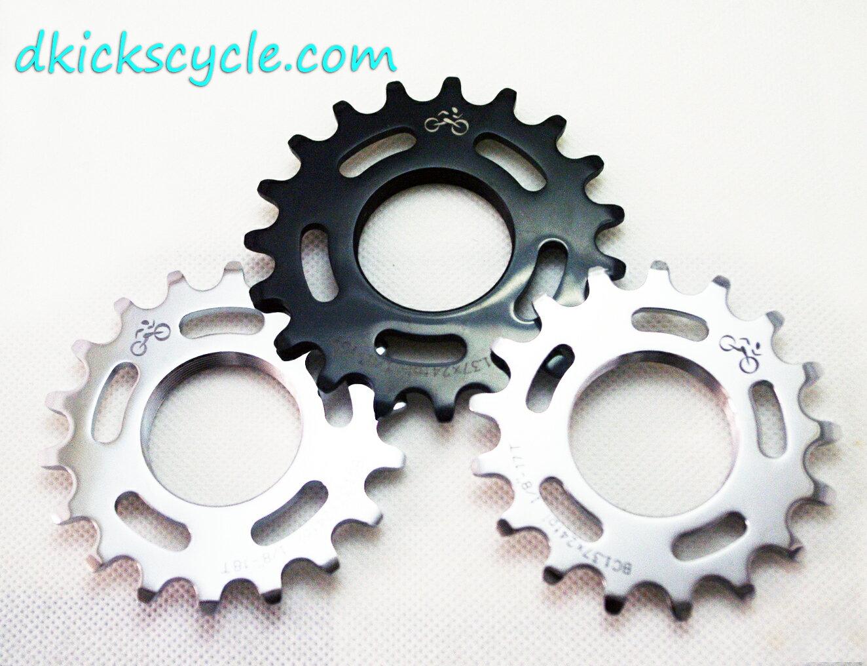 Dkicks cycle 自行車飛輪 齒片 Fixed gear 黑色或銀色 單速車 城市車
