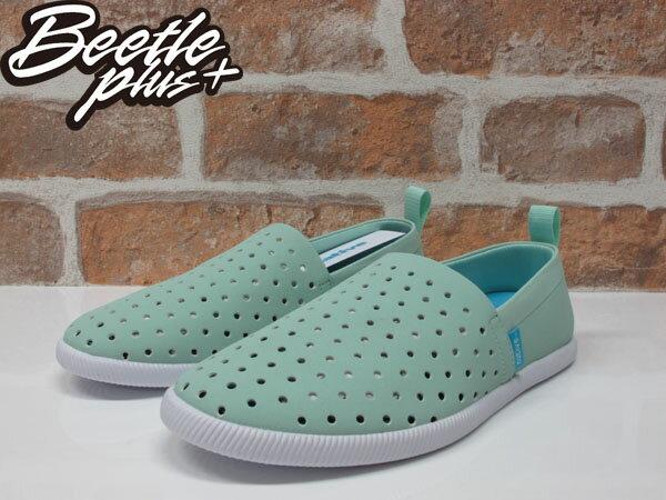 《限時6折》BEETLE PLUS NATIVE VENICE 維納斯 系列 薄荷綠 蒂芬妮綠 白綠 洞洞鞋 休閒鞋 懶人鞋 1