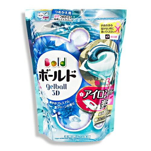 日本 P&G 第三代 最新3D立體洗衣凝膠球18顆-白葉花香★衛立兒生活館★