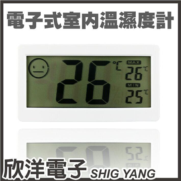 ~ 欣洋電子 ~DC206電子式室內溫濕度計 1263  內附AG13電池~1
