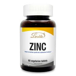 【小資屋】Lovita愛維他 胺基酸螯合鋅30mg(60顆/瓶)