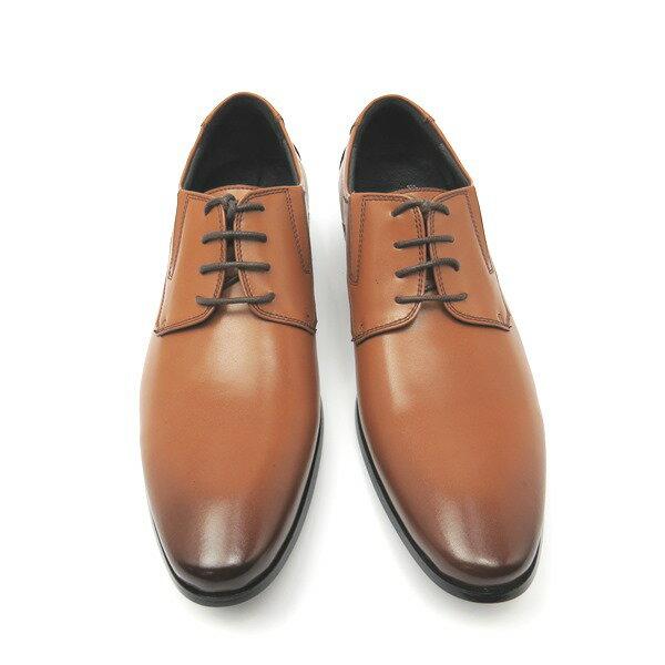 彩虹屋美鞋:*男皮鞋*時尚舒適尖頭排壓氣墊皮鞋77-7701(棕)☆【彩虹屋】☆