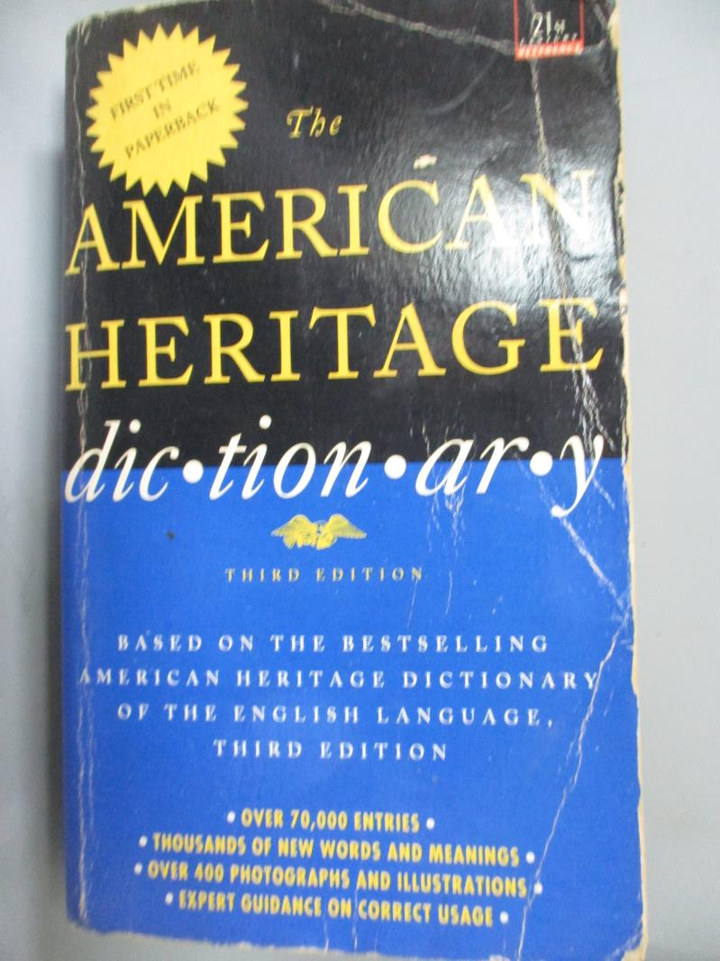 ~書寶 書T9/字典_JEZ~The American Heritage Dictionary _Mifflin